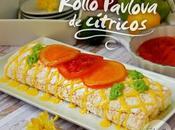 Rollo pavlova cítricos invitado cookcakes ainhoa