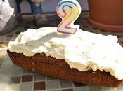 Carrot Cake Gluten. cumple blog.