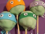 Cake pops galletas tortugas ninjas para david