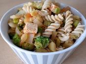 Pasta tofu verdura