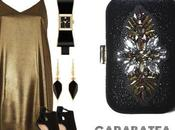Como combinar vestido dorado