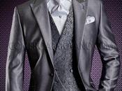 Traje novio gris corte entallado (slim fit)