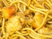 Fideos vietnamitas gambones