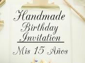 Invitación Cumpleaños Años Estilo Sobrio Elegante.