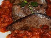 Hígado cordero salsa