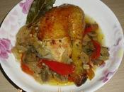 Pollo sidra, pollo desada