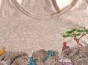Camiseta elefantes nieve