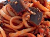 Espaguetis berenjena