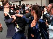 Gigi Hadid defiende puñetazos