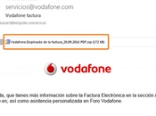 correo falso Vodafone quiere infectar nuestro dispositivo.