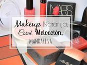 Makeup Naranja, Coral, melocotón