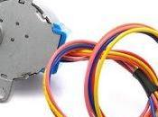Control motor pasos unipolar 28BYJ-48 mediante driver ULN2003