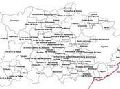 Pueblos pedanías Sierra Norte