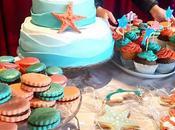 tartas, galletas mesas dulces