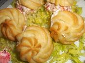 Petit-choux gluten atún