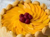 Charlota mango frambuesas