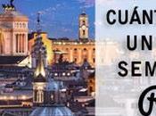 Presupuesto para viajar Roma