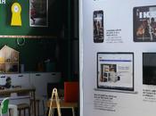 IKEA monta catálogo gigante medio calle Croacia