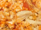 Arroz expres Thermomix tomate, atún huevo