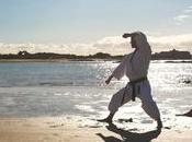 Karate, mucho patadas voladoras