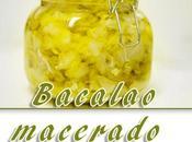 Bacalao macerado aceite oliva