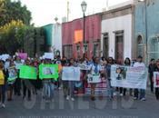 Marchan mujeres desaparecidas Luis Potosí