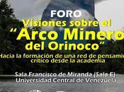Instituto Zoología Ecología Tropical realizará foro sobre visiones Arco Minero