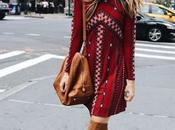 Autumn looks try: drees with boots