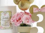 Ideas: decoración minnie pink gold