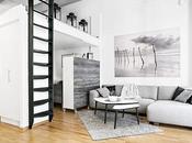 Apartamentos: metros, negro sobre blanco