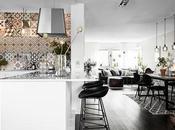 DECO precioso apartamento baldosas hidráulicas mucho color negro