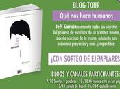 "¡Blog Tour Reseña Concurso: ""Qué hace humanos"" Jeff Garvin!"
