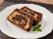Bizcocho marmolado chocolates: blanco negro