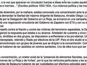 partido ultraderechista Alianza Nacional atribuye exhibe agresiones violentas