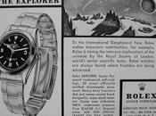 Origen legendario Rolex explorer