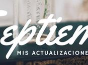 actualizaciones literarias (Septiembre, 2016)