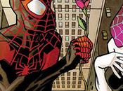 romance entre Miles Morales Spider-Gwen llega enero