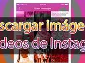 Cómo descargar imágenes vídeos Instagram