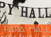 ideas para halloween hacer casa