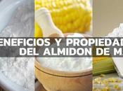Conoces Beneficios propiedades almidón maíz
