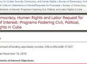 Obama: directiva subversión contra Cuba millones