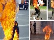 Mujer prende fuego marido tras encontrarlo abusando hija años