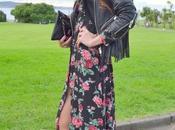 Boho look: vestido camisero floral