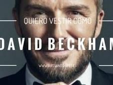 ¿Quieres llevar traje como David Beckham?