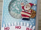 Colaboración tienda manualidades Tarjeta navideña