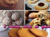 recetas fáciles galletas
