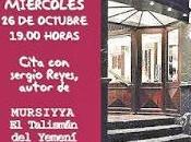 """Presentación Mursiyya trastienda"""" Alcantarilla"""