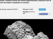 Podcast radio: final sonda Rosetta