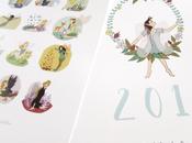 Calendario Ilustrado 2017