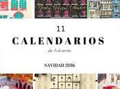 calendarios adviento para estas navidades 2016.